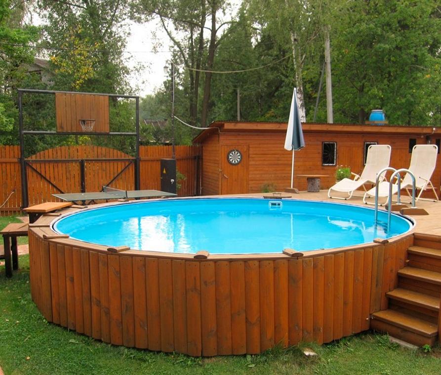 Купить каркасный бассейн в Краснодаре.